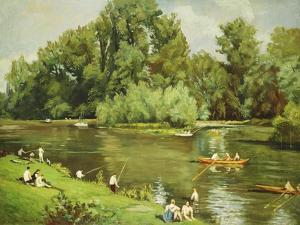 Edge of the Marne, C.1932 by Emile Bernard