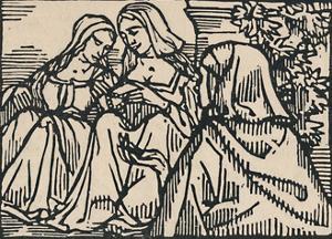 'Illustration for Villon's Ballade Des Femmes De Paris', 1919 by Emile Bernard