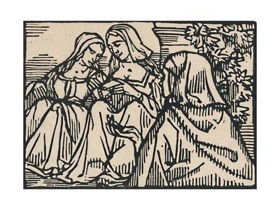 'Illustration for Villon's Ballade Des Femmes De Paris', 1919