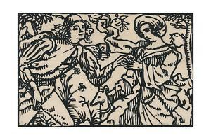 'Illustration for Villon's Petit Testament, 1919 by Emile Bernard