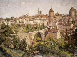 L'Yonne Landscape, 1907 by Emile Bernard