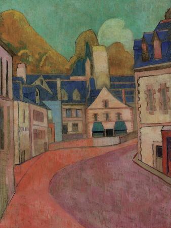 La Rue Rose, Pont-Aven, 1892