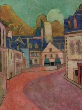 La Rue Rose, Pont-Aven, 1892 by Emile Bernard