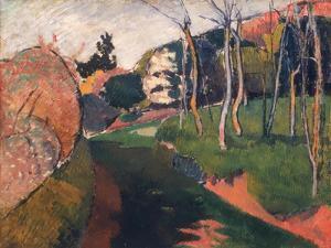 Landscape, Saint-Briac, 1889 by Emile Bernard