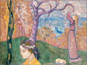 Madeleine Au Bois D'Amour, 1892 by Emile Bernard