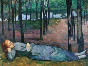 Madeleine in the Bois d'Amour by Emile Bernard