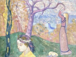 Madeleine in the Wood of Love, 1892 by Emile Bernard