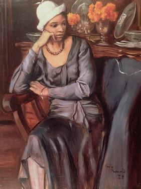 Negress with a Cloche Hat, 1932 by Emile Bernard