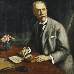 Portrait of Emile Bauman; Portrait D'Emile Bauman, 1927 by Emile Bernard