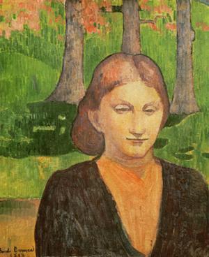 Portrait of My Sister Madeleine, 1888 by Emile Bernard