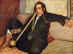 Smoking Haschich, 1900 by Emile Bernard