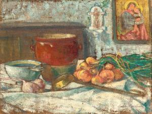Still Life with Onions, 1889 by Emile Bernard