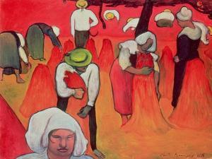 The Buckwheat Harvest, 1888 by Emile Bernard