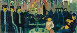 The Tabarin, or Cabaret in Paris, 1888-89 by Emile Bernard