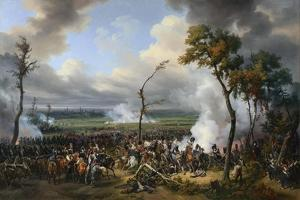 The Battle of Hanau, 1813, 1824 by Emile Jean Horace Vernet