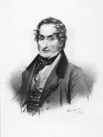 Portrait of Charles Nodier