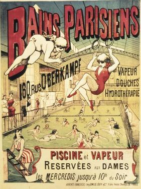 Bains Parisians by Emile Levy
