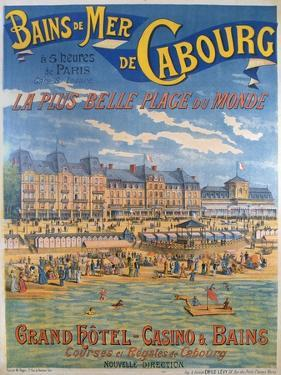 Cabourg Poster by Emile Levy