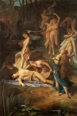 Death of Orpheus, 1866 by Emile Levy