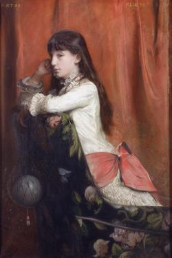 Mademoiselle Lia Levy, 1882 by Emile Levy