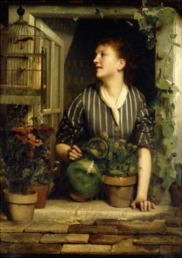 Morning Glories, 1874 by Emile Levy