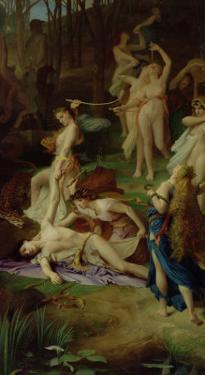 The Death of Orpheus, 1866 by Emile Levy