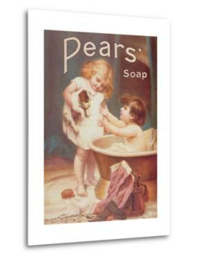 His Turn Next, from the Pears Annual by Emile Munier