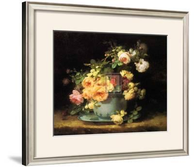 Roses in a Porcelain Bowl
