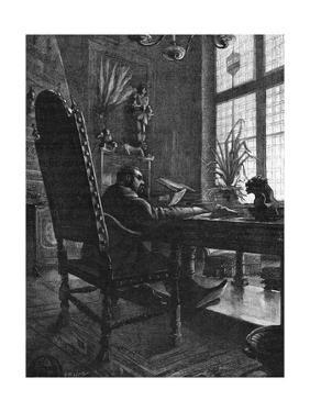 Emile Zola at Work