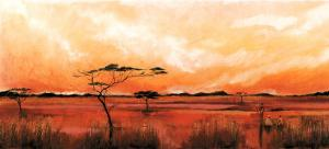 Bhundu Landscape IV by Emilie Gerard