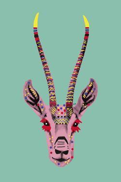 Savane Antelope by Emilie Ramon