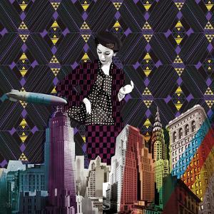Vintage City II by Emilie Ramon