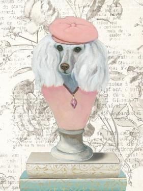 Canine Couture Newsprint IV by Emily Adams
