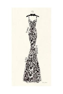 Couture Noir Original II by Emily Adams
