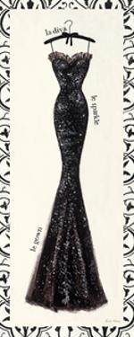 Couture Noir Original IV by Emily Adams
