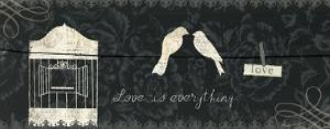 Love Paris Panel III by Emily Adams
