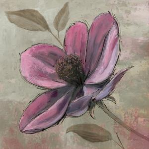 Plum Floral III by Emily Adams