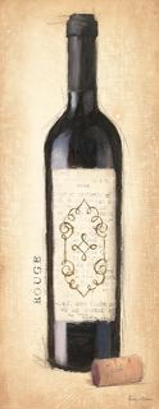 Vintage Rouge Bottle by Emily Adams