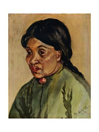 'Illustration from Klee Wyck', 1914