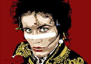 Adam Ant by Emily Gray