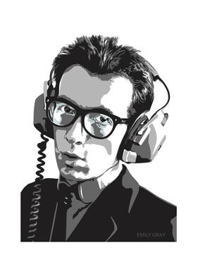 Elvis Costello by Emily Gray