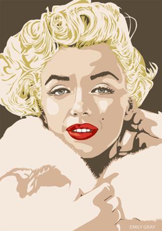 Marilyn - Gentlemen Prefer Blondes by Emily Gray