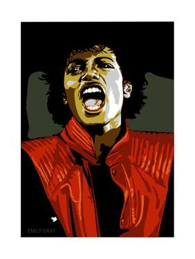 Michael Jackson - Thriller by Emily Gray