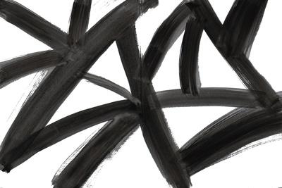 Black Roads Abstract