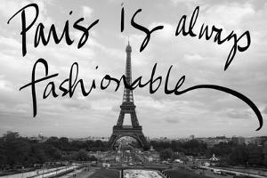 Fashionable Paris by Emily Navas