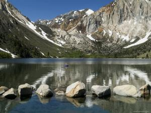 Trout Fishing on Convict Lake by Emily Riddell