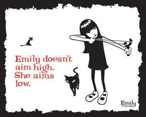 Aim Low by Emily the Strange