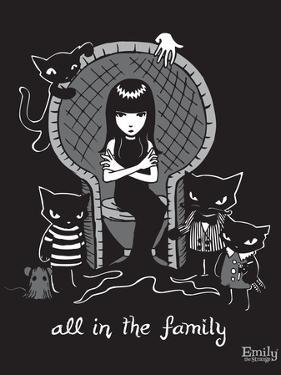 All In the Family by Emily the Strange