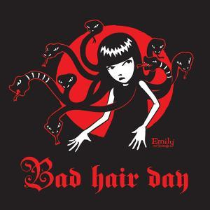 Bad Hair Day by Emily the Strange
