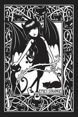 Bat Girl by Emily the Strange